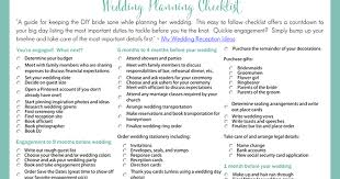 wedding checklist templates printable wedding planning checklist for diy brides