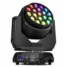 Big W Disco Lights Professional Led 19x15w Rgbw 4in1 Big Bee Eye Moving Head