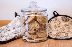 Diy Cookie Jar Vinyl With Cricut Butterscotch Oatmeal Cookies For The Joy Of Life