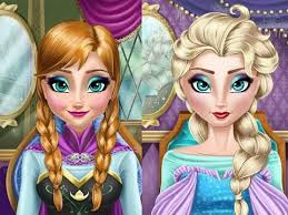 frozen games for s pilation of elsa and anna real makeover frozen game plays