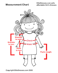 News How To Measure The Dress Of Your Child Cool Kids