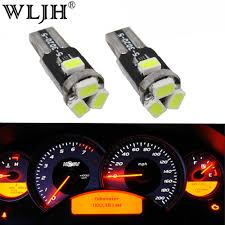 2000 Honda Odyssey Dash Lights Wljh 7colors T5 Led Car Light 85 73 286 74 37 Wedge Lamp