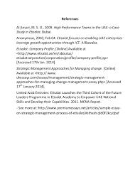 sample essay on strategic management process of etisala 5