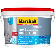 <b>Краска Marshall</b> Export-2, 2.5 л купить по цене 625 руб. в ОБИ