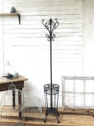 Country Coat Racks Impressive Iron Coat Rack Stand French Country Decor Hook Cast Vintage VinnyMo