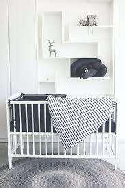modern crib set graphite stripe uni crib set modern crib bedding set baby bedding organic cotton