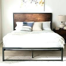 rustic platform bed. Rustic Platform Bed Frame Log Image Of Queen