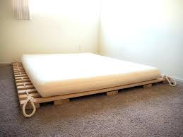 Japanese Bed Frame King Bedroom Fab Worth Bed E King White Frame ...