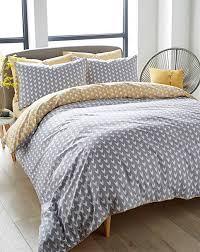 appletree dari yellow 100 cotton duvet cover set