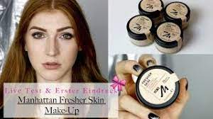 manhattan neuheit fresher skin make up