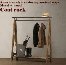 cheap loft furniture. american pastoral retro coat racknostalgic style wardrobeclothing display rackloftmetalwoodpure handmade bedroom furniture cheap loft r