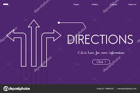 Directions Template Template With Directions Concept Stock Photo Rawpixel