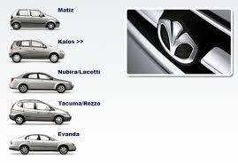 daewoo matiz kalos nubira lacetti tacuma rezzo evanda service repair manual