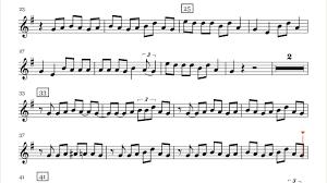 7 years old sheet music lukas graham 7 years saxophone sheet music youtube