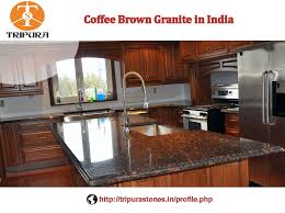 Click to view full slab Indian Granite In India Stunning Coffee Brown Granite For Counter Tops