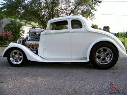 1933 WILLYS COUPE STREET ROD BIG BLOCK CHEVY ENGINE 9