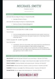 Functional And Chronological Resume – Foodcity.me