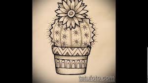 значение тату кактус смысл история фото эскизы крутых рисунков
