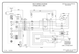 wiring diagrams royal range of california 480v 3 Phase Wiring Diagram reco 480v 3 phase 3 phase 480v transformer wiring diagram