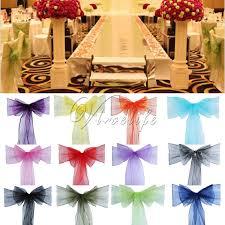 10/<b>25 Pcs</b> Spandex <b>Chair Covers</b> Lycra Wedding Dining Slip Seat ...