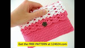 Free Crochet Purse Patterns For Beginners