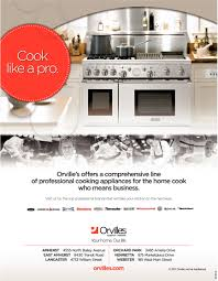 Brands Of Kitchen Appliances Orvilles Home Appliances Cook Like A Pro Shopping Ads From