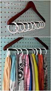 Distinctive Shower Curtain Ring Anizing Plus Shower Curtain Ring Scarf Her  in Scarf Holder