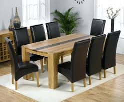 round table for 8 dining room attractive dining table 8 chairs furniture choice on from modern