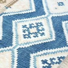 blue kilim rug floor target