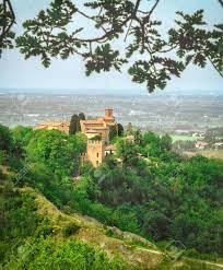 Bologna Landmark Abbazia Of Monteveglio Vertical Background Emilia Romagna  Region - Italy Stock Photo, Picture And Royalty Free Image. Image 148440421.
