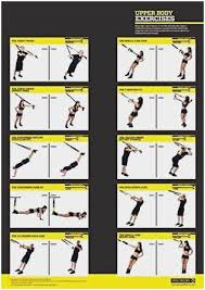Trx Exercises Chart Awesome Upper Body Workout Pdf Berry