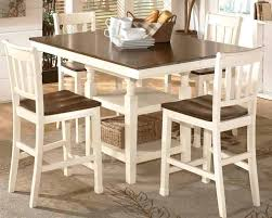 impressive remarkable white pub tables sets in dining furniture country style image ideas