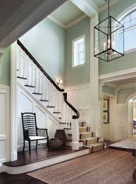 brilliant foyer chandelier ideas. wainscot on staircase love the colorsstaircase more brilliant foyer chandelier ideas