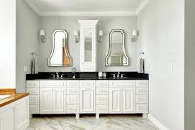 white bathroom cabinets with dark countertops. white double vanity with black countertop bathroom cabinets dark countertops e