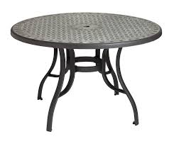cordoba 48 inch round dining table metal legs