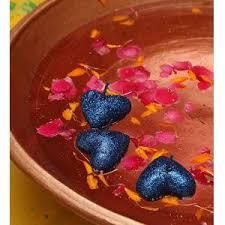 Buy Riflection Blue Decorative <b>Heart Shaped Sparkle</b> Floating ...