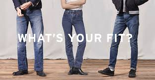 Introducing The New Levis Jeans Fit Guide Off The Cuff