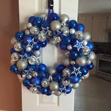 My Dallas Cowboys wreath 2015
