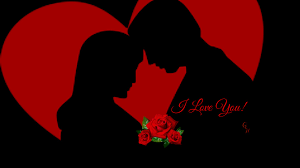I Love U Wallpaper With Couple Happy Valentines Day Hd