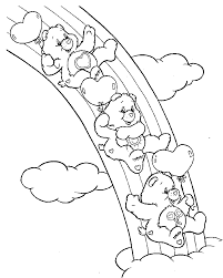Small Picture Care Bears Coloring Pages 8 Coloring Kids