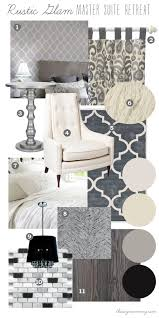 Master Bedroom And Bathroom Color Schemes Mood Board Rustic Glam Master Suite Retreat Our Diy House By