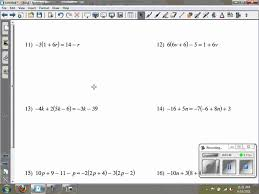 solving multi step equations kuta infinite algebra 2 ghchs
