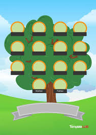 Family Tree Maker Templates 50 Free Family Tree Templates Word Excel Pdf