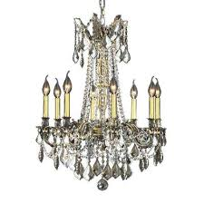 bronze crystal chandelier style selections 3 light antique bronze crystal chandelier image concept