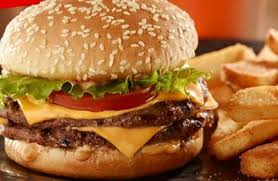 reds tavern double burger at red robin
