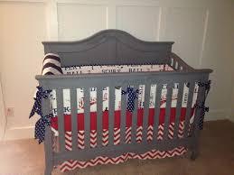 unique baseball crib bedding