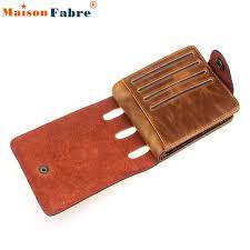 modern designer mens pu leather bifold wallet credit id card holder slim purse jy5 fashion personal
