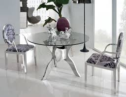 small glass dining table. Round Glass Top Dining Table Set Montclaire Table42 In Small Tables