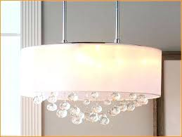 oval drum chandelier remarkable lamp shade chandelier long oval shape with light and crystal oval drum crystal chandelier