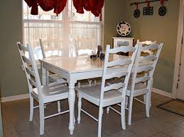 Dining Table Painting Ideas Painting Kitchen Table And